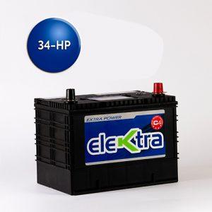 Batería 34 High Power 80A-elektra