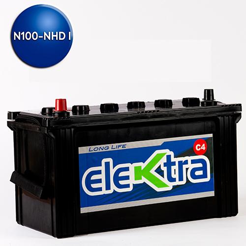 Batería N100 Super Heavy Dutty i 130A elektra