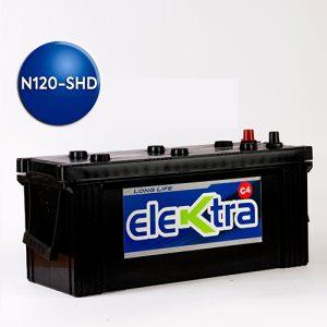 Batería N120 Super Heavy Dutty 130A elektra