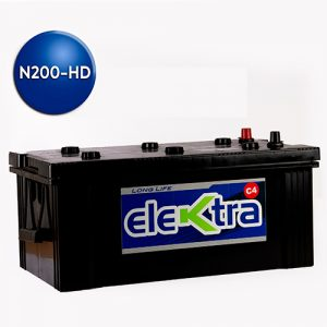 Batería N200 Heavy Dutty 210A elektra
