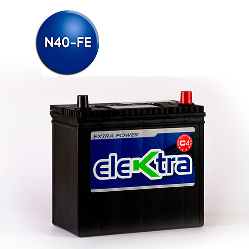 Batería N40 Full Equipo 55A elektra