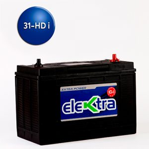 Batería 31 Heavy Dutty i 105A elektra